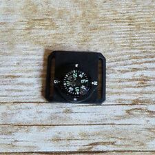 """Mini Watchband Compass Black Background fits 3/4"""" watch band or smaller"""