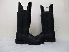 Blue Leather Roper Cowboy Boots Women's Size 4 B