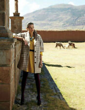 NIP Anthropologie Neo-Houndstooth Coat by Elevenses Size 4