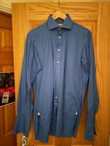 Thomas Pink 15.5 Blue Shirt