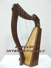 SAPPHIRE - NEW ROSEWOOD IRISH CELTIC LAP HARP - 12 STRINGS - BY SULSHI