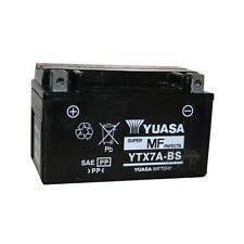 YUASA MOTORRAD-BATTERIE YTX7A-BS YTX 7A-BS NEU !!!, 12 Volt, 6 Ah