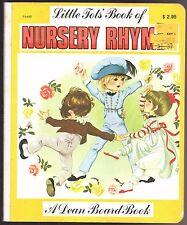 Anne Grahame Johnstone LITTLE TOT'S BOOK OF NURSERY RHYMES a Dean Board Book