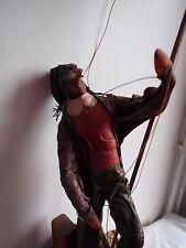 Sculpture Personnage unique en Cuir , façonner par Artiste Créateur   (514)