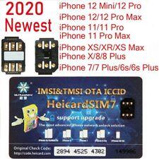 Heicard Turbo unlock Chip Sim Card For Apple iPhone 12/11/Xr/8/8 Plus/7/6S Plus
