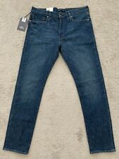 LEVIS MADE AND CRAFTED LMC 511 SELVEDGE MARFA 36X34 BRAND NEW