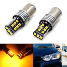 Amber Error Free 7507 LED Bulbs For BMW 1 2 3 4 Series X3 X5 Turn Signal Lights
