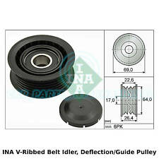 INA V-Ribbed Belt Idler, Deflection/Guide Pulley - 532 0160 10 - OE Quality
