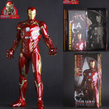1/6TH IRON MAN MK 45 XLV CIVIL WAR BY CRAZY TOYS COLLECTIBLE FIGURE STATUE 12''