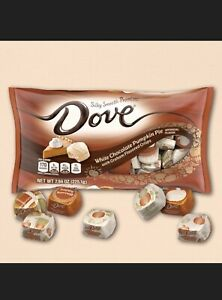 Limited Edition Dove Promises Halloween White Chocolate Pumpkin Pie Candy 7.94oz