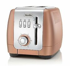 Breville VTT845 Strata Luminere 2 Slice Toaster 850W Kitchen Appliance Rose Gold