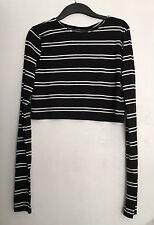 Zara Boat Neck Long Sleeve Tops & Shirts for Women