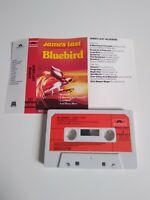 JAMES LAST BLUEBIRD CASSETTE TAPE 1982 RED PAPER LABEL POLYDOR UK