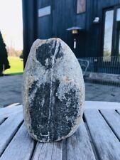 """Vintage Real Stone Rock Hand Made Vase Lee Spiller 7.5"""" x 5"""" signed"""