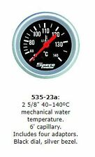 "Speco 2 5/8"" ( 66mm ) 40-140c Mechanical Water Temperature Gauge P/N 535-23a"