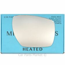Right Driver side Flat Wing door mirror glass for Mazda CX-7 2006-2012 heated