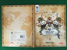ALBUM Figurine Sticker WWF IL GIRO DEL MONDO , Ed. COOP 2012 , COMPLETO !!! OTT.