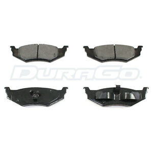 Rear Brake Pads DuraGo Semi-Metalic BP658MS