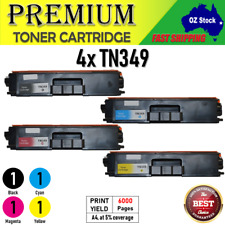 4x TN349 TN-349 Generic TonerS for Brother HL-L9200 CDW HL-L8250CDN magenta