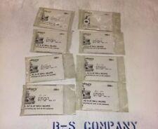 """Jamesbury Valve Repair Parts, 1-4""""-1/2"""" A, AT, AHV, D, 00-202-0001-TT"""