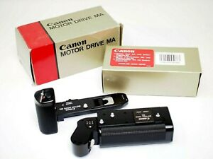 Canon MA Motor Drive Set. Canon Motor Drive MA with Canon AA Battery Pack MA