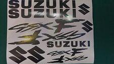Suzuki GSXF  Decal/ Sticker Pack -- ALL COLOURS AVAILABLE -- GSX F GSX-F