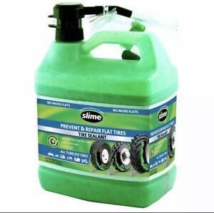 Slime Prevent and Repair Tire Sealant 1 Gallon - 10163, Environmentally Friendly