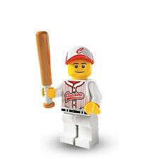 Lego city Minifigure figurine entraîneur baseball