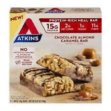 Atkins Meal Bar Chocolate Almond Caramel