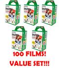 Fujifilm Instax Mini Instant Film (5 Twin Packs, 100 Total Pictures)
