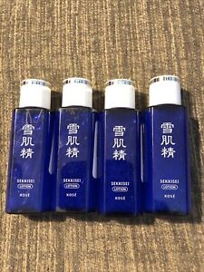 Lot of 4 Kose Sekkisei Enriched Lotion 0.81oz / 24ml Each New
