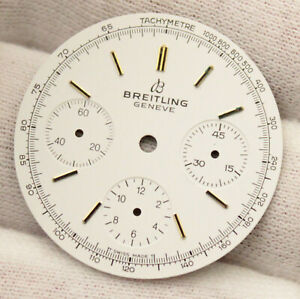 Breitling Genève Vintage Chronograph Watch Dial Ø30.9mm Venus 178 NOS