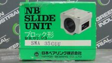 NEW Nippon Bearing Linear Bushing Slide Unit SMA 35GUU