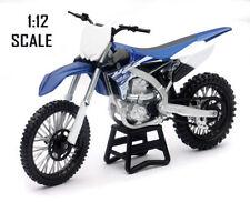 Motocross di modellismo statico in plastica blu