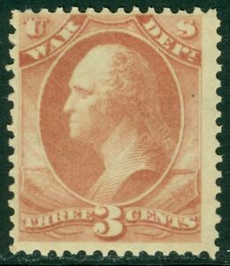EDW1949SELL : USA 1873 Scott #O85 MNH A Beautiful PO Fresh stamp PSAG Cat
