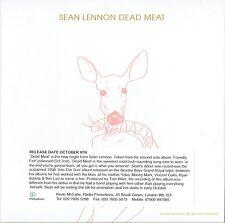 Sean Lennon - Dead Meat - Promo