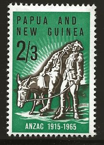 Papua New Guinea Scott #203, Single 1965 Complete Set FVF MNH