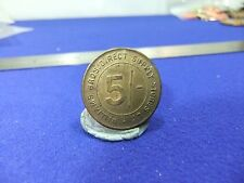 vtg token williams bros direct supply stores ltd 5/- london grocery store coin