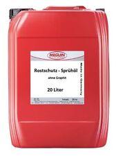 20 Liter 2,99 €/L Profi Rostschutz Öl Korrosionsschutzöl Kriechöl Sprühöl