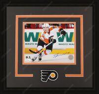 Travis Konecny Autographed Framed 8x10 Photo Philadelphia Flyers JSA