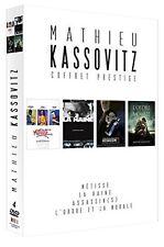 Mathieu Kassovitz - coffret 4 DVD  - La haine/Assassins/Métisse/L'ordre  -  NEUF