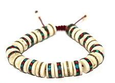 Tibetan prayer beads healing bracelet Adjustable wrist mala yoga bracelet E6