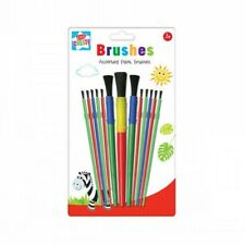 Childrens Paint Brushes Kids Artist, Art and Crafts, Assorted Brushes