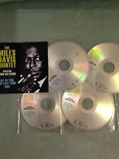 Miles Davis & John Coltrane promo set  All Of You The Last Tour   4-Discs