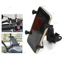 Motorcycle Scooter Phone Holder Handlebar Mirror Rear View Mount Holder