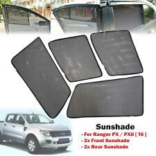 Car Window Side Sun Shades Sunshades Sun Visors For Ranger PX T6 12-ON (4 pcs)