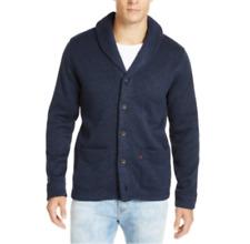 Levi's Men's Navy Shawl-Collar Cardigan Sweater Jacket Size L New $75 MCYC