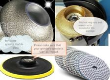 """1"""" Ogee Bullnose router 36 Polishing pad marble concrete FREE SHIP Canada Europe"""