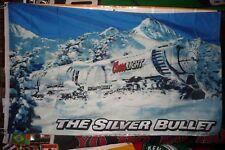 "Coors Light Beer Flag 3' X 5' Silver Bullet Train Premium Banner ""USA Seller"""