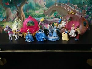Cinderella carriage Figures And Princess Tiara
